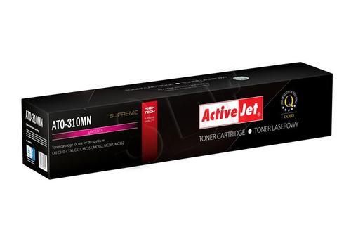 ActiveJet ATO-310MN magenta toner do drukarki laserowej OKI (zamiennik 44469705) Supreme