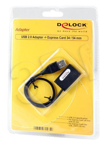DELOCK USB 2.0 -> EXPRESS CARD 34mm/54mm