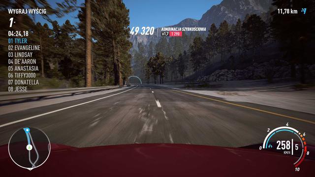 Need for Speed Payback - Niezabraknie górskich krajobrazów