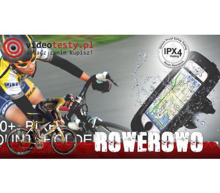 Rowerowo #5 - Uchwyt rowerowy iPhone 5 - Luxa2 H10+