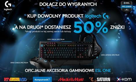 Gamingowy Sprzęt Logitech G na Promocji!