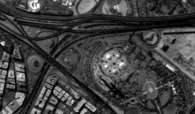 Obraz 4K na Żywo z Satelity