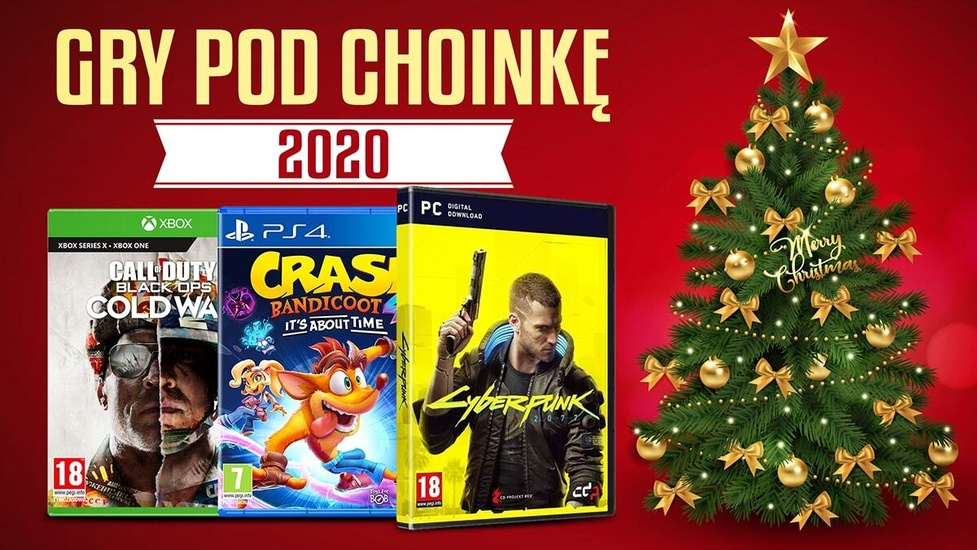 Gry pod choinkę 2020 - Najlepsze prezenty dla posiadaczy konsol i PC