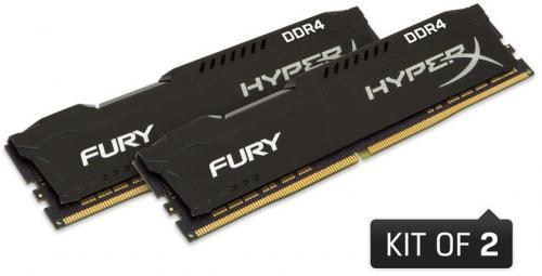 Kingston HyperX FURY DDR4, 2x16GB, 3200MHz, CL18 (HX432C18FBK2/32)