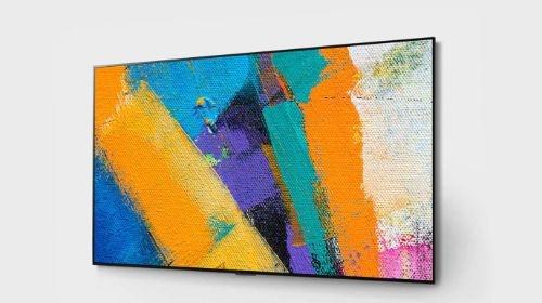LG OLED65GX3 na ścianie