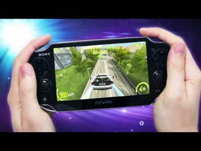 PS Vita i najnowsza gra z serii Asphalt