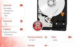 """Western Digital WD20EFRX SATA 3,5"""" 2TB"""