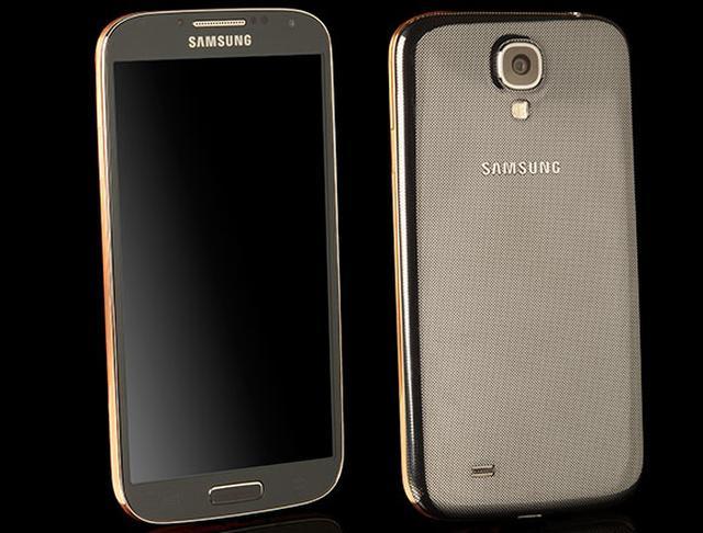 Samsung GALAXY S4 Gold - luksusowy smartfon
