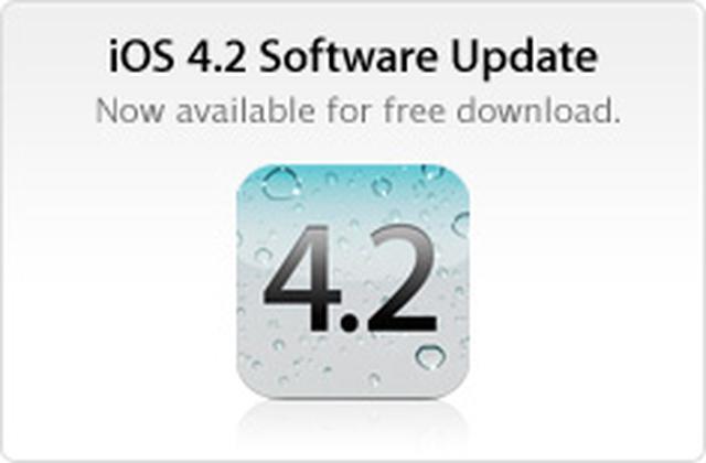 Uaktualnienie oprogramowania iOS 4.2
