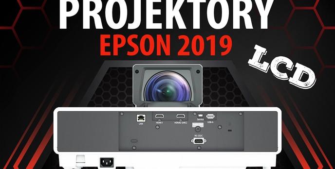 Przegląd projektorów Epson na 2019 rok