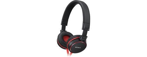 Sony Słuchawki EXTRA BASS DJ type MDR-V55 red