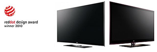 Telewizory LG INFINIA zdobyły nagrodę Red Dot Design