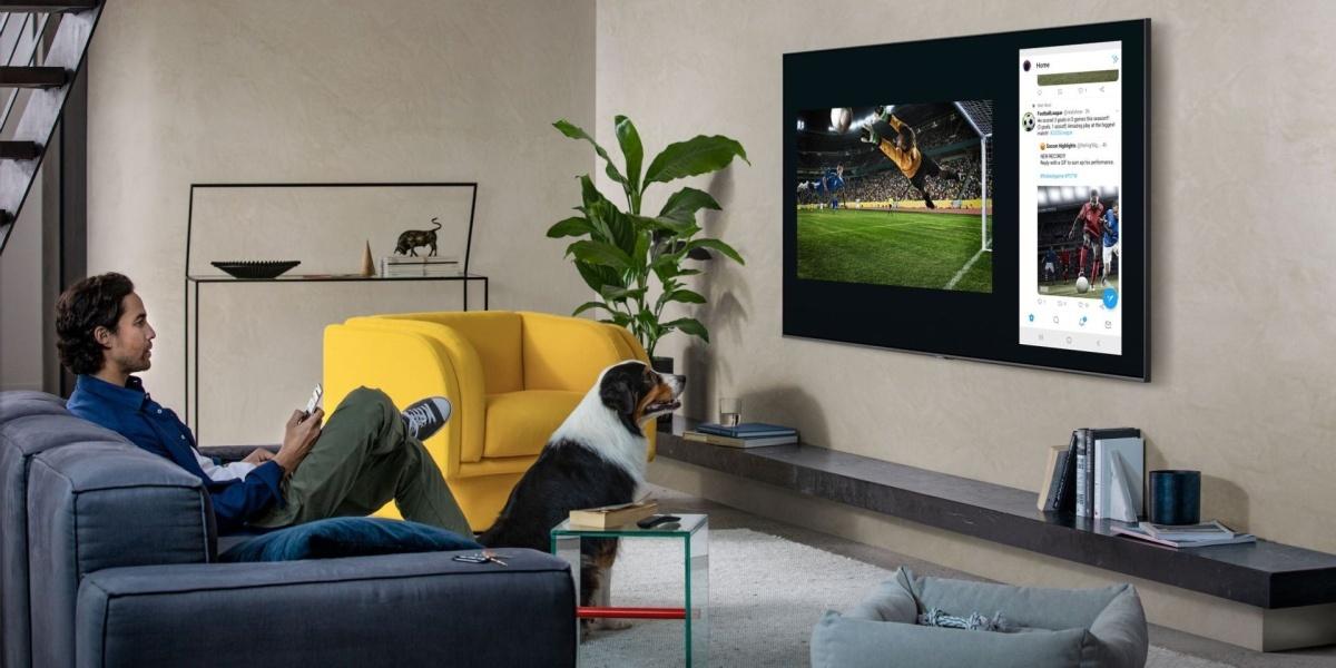 Samsung QLED w 2020 roku pozwoli na szybkie dzielenie obrazu