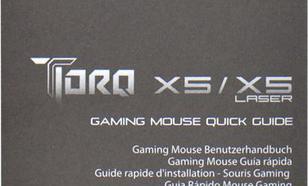 EVGA TorQ X5L Laser Gaming Maus (901-X1-1051-KR)