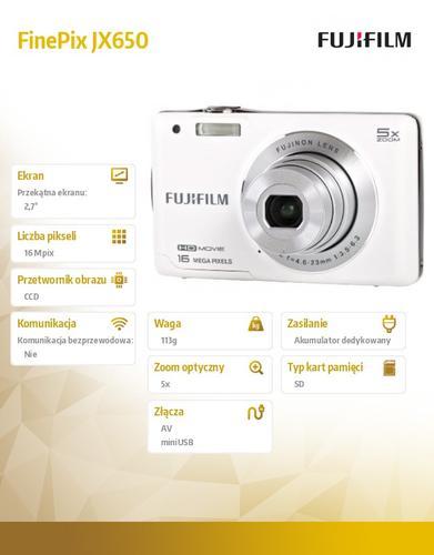 FujiFilm JX650 white