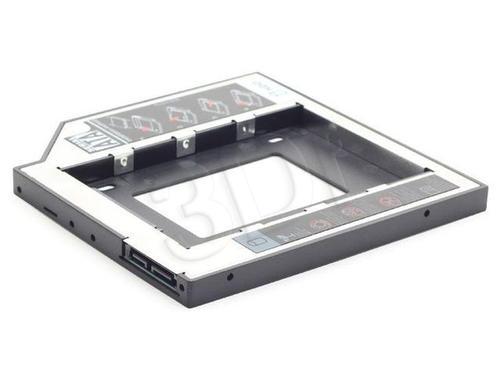 GEMBIRD RAMKA MONTAŻOWA SLIM HDD/SSD 5.25->2.5 (W MIEJSCE CD/DVD W LAPTOPIE)