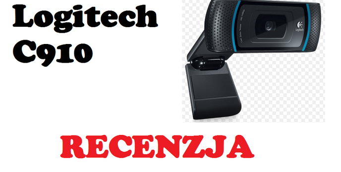 Logitech C910 Webcam [RECENZJA]