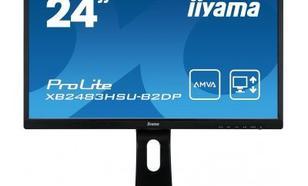 IIYAMA 24''XB2483HSU-B2DP AMVA+DP/PIVOT/USB/GLO