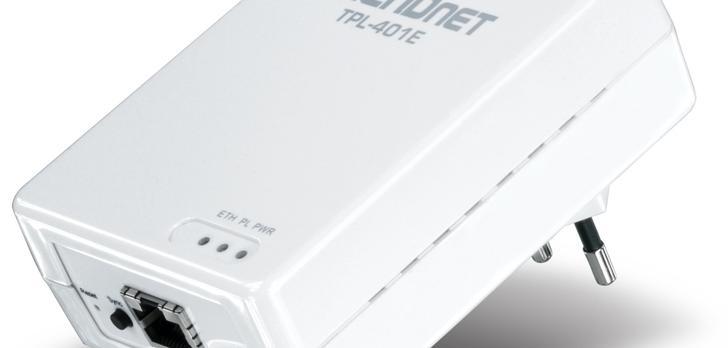TRENDnet TPL-401E 500Mb/s - adapter sieci elektrycznej