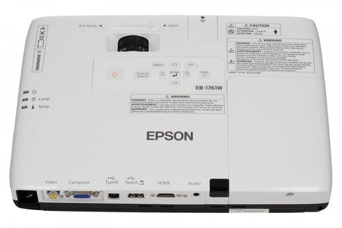 Epson Projektor EB-1761W 3LCD/WXGA/2600AL/2000:1/1.68kg