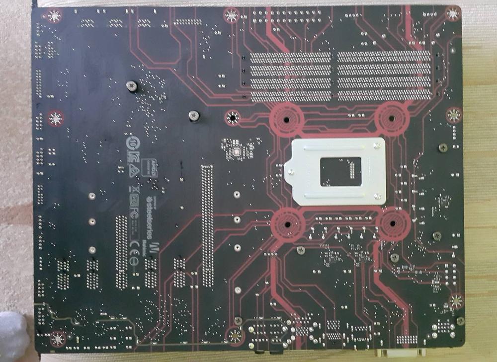 MSI Z270 Gaming M3 Tył