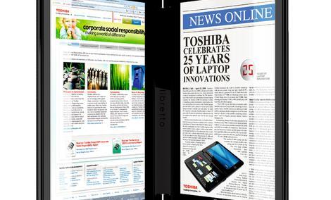 Toshiba Libretto W100 – miks tabletu z laptopem