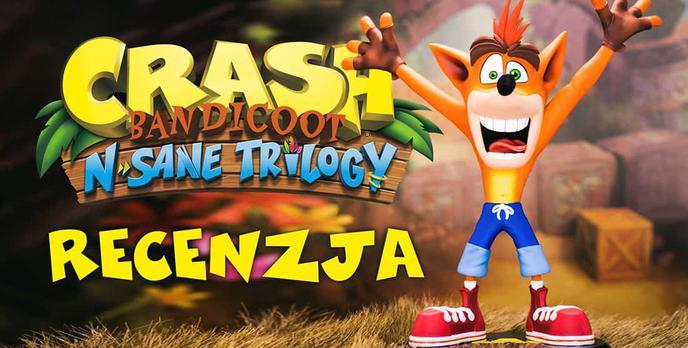 Recenzja Crash Bandicoot N. Sane Trilogy – Udany Powrót Do Przeszłości!
