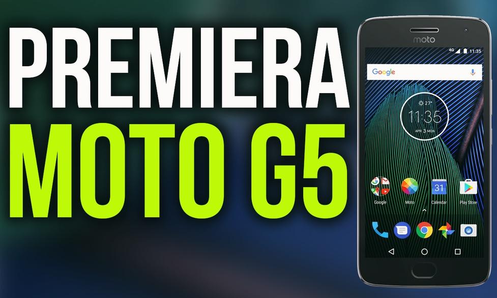 Motorola Powraca ze Swoją Nazwą! Polska Premiera Moto G5 i G5 Plus