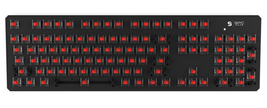 SPC Gear GK540 Magna - klawiatura Kailh Red RGB