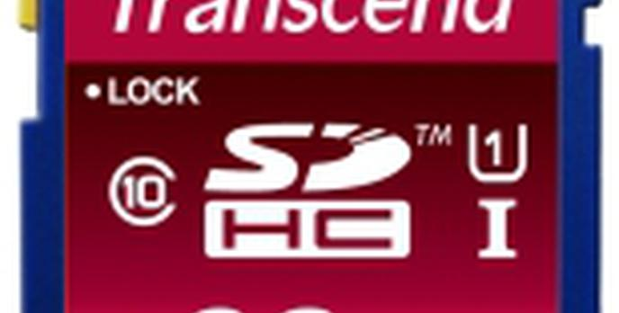 Szybkie karty SDHC od TRANSCENDa teraz w wersji  32 GB