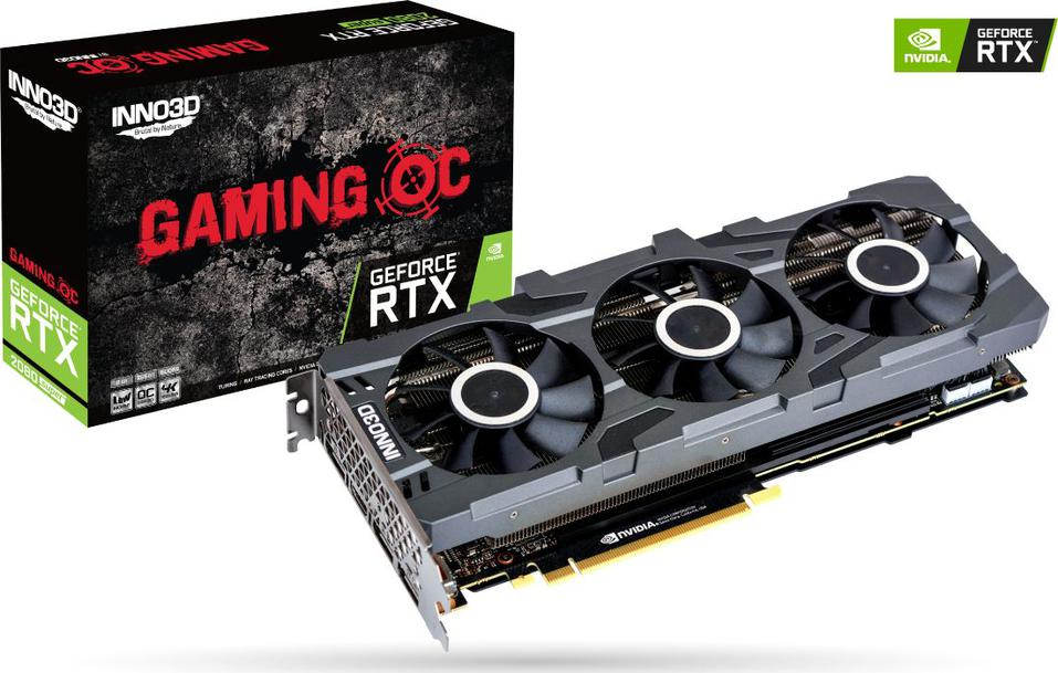 Inno3D GeForce RTX2080 Super GAMING OC X3 8GB GDDR6