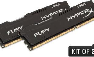 HyperX FURY DDR3L, 8GB(2x4GB), 1600MHz, CL10, 1.35V, czarny (HX316LC10FBK2/8)