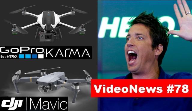 VideoNews #78 -Samsung Wykupuje Część Apple, Przyszłość Według Google oraz Nowy dron od DJI i GoPro