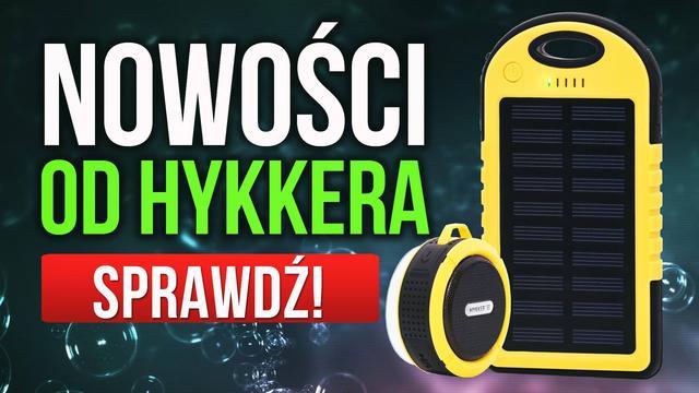 Głośnik i Powerbank - Wakacyjny Duet od Hykker Wkrótce w Biedronce