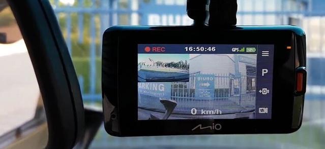 profesjonalna kamerka samochodowa od Mio
