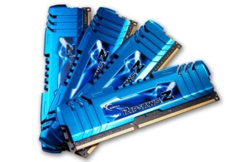 G.SKILL DDR3 16GB (4x4GB) RipjawsZ 1600MHz CL7 XMP