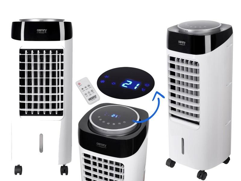 Klimatyzatory pozwalają ustawiać temperaturę