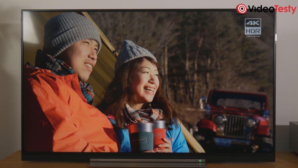 TOSHIBA 55U7863DG jakość obrazu 4K UHD