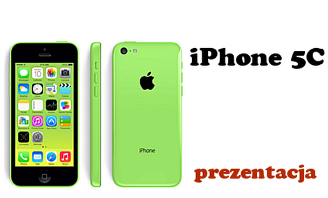Apple iPhone 5C [Prezentacja]