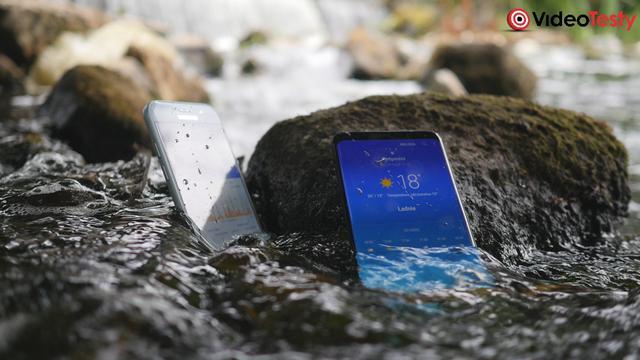 smartfon w wodzie