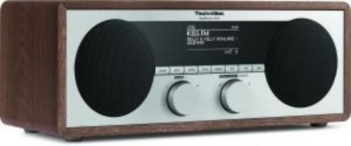 TECHNISAT DigitRadio450 CYFROWE DAB+,FM DREWNO