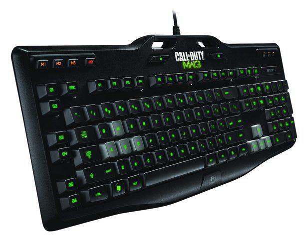 klawiatura dla graczy logitech g105