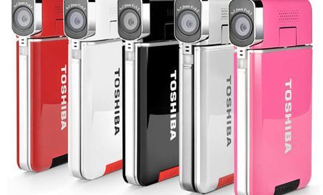 TOSHIBA CAMILEO S20 - kamera cyfrowa o wyrózniającym designie