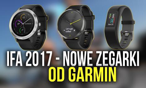 IFA 2017 - Garmin Prezentuje Nowe Smartwatche