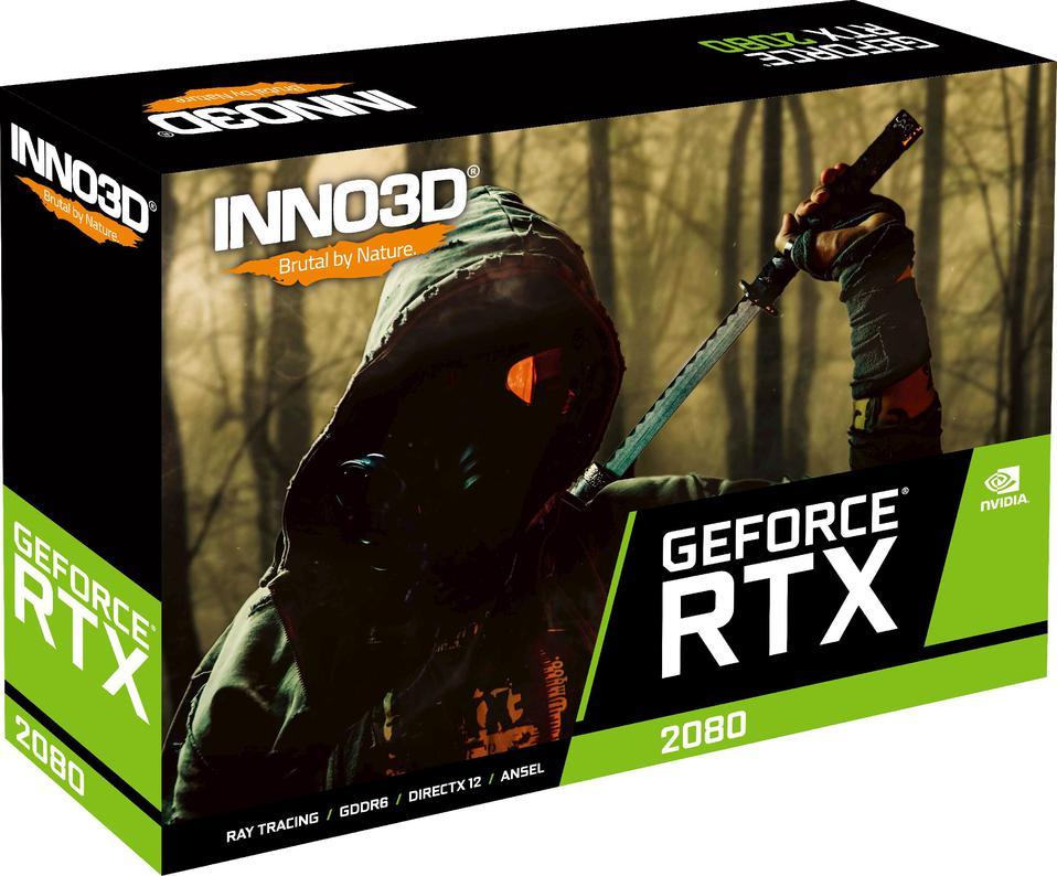 Inno3D GeForce RTX 2080 GAMING OC X3 8GB GDDR6 (256 Bit), HDMI, 3xDP,