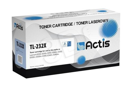 Actis TL-232X toner Black do drukarki Lexmark (zamiennik Lexmark 24016SE) Supreme