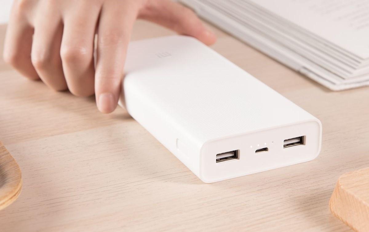 Xiaomi Powerbank 2c na biurku