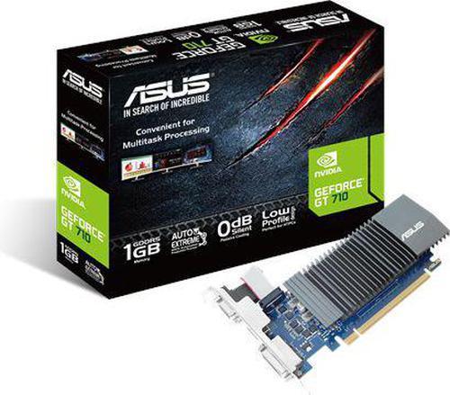 Asus GeForce GT 710 1GB GDDR5 (32 bit) HDMI, DVI, D-Sub, BOX (GT710-SL-1GD5-BRK)