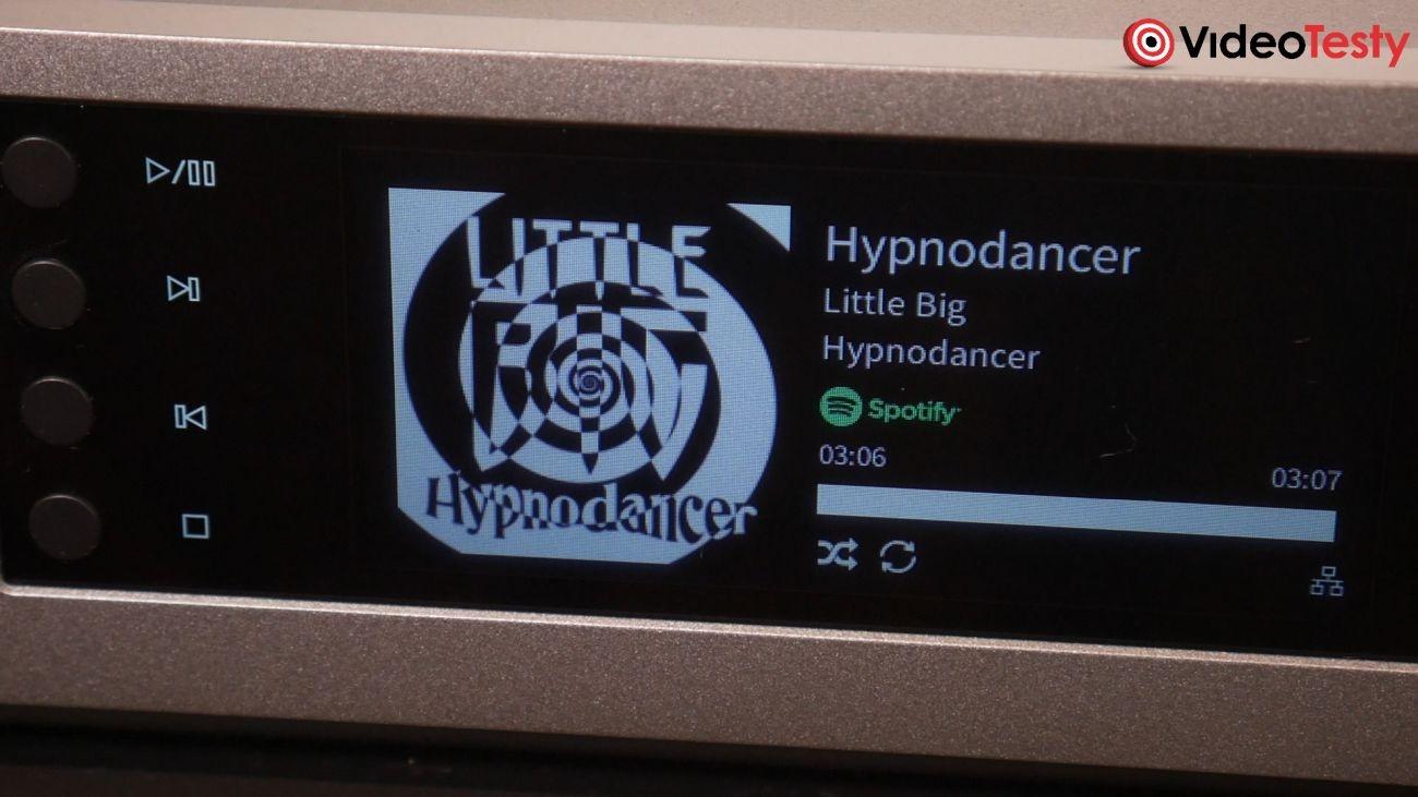 streamer Cambridge Audio CXN v2 kolorowy wyświetlacz