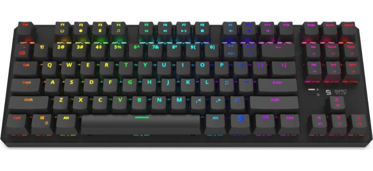 SPC Gear GK530 - dobra klawiatura mechaniczna